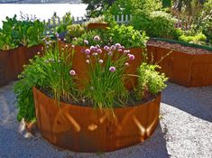 Planters   Garden Design Trends With Contemporary Planters