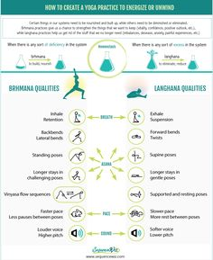 How to use yoga to energize or unwind