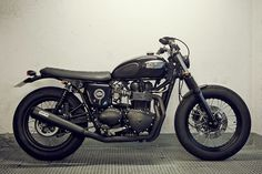 Triumph Bonneville customized.