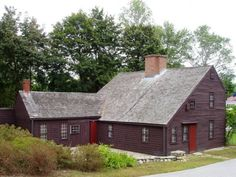 """The Macy-Colby House was built in Amesbury, Massachusetts, in roughly 1649 by the town's mayor, Thomas Macy. Macy is most well known for his appearance in a 19th century poem by John Greenleaf Whittier titled """"The Exile."""" After building the home, Macy went on to settle Nantucket."""