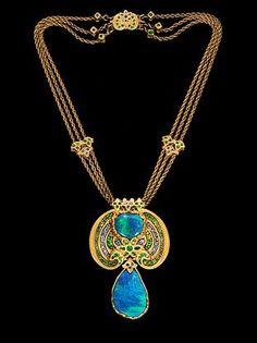 Black Opal: Black Opal at Tiffany's; Louis Comfort Tiffany.