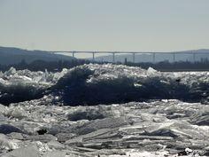 Jég és szél násza Balaton