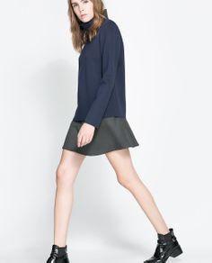 Image 3 of SKATER SKIRT from Zara