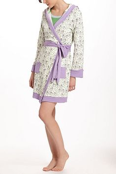 Anthropologie pajama item 4 - who doesn't like squirrel patterned bathrobes? $88