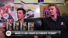 cool RNH & Dubnyk Create Their NHL 13 Hockey Ultimate Team - GameStop NHL Wednesdays