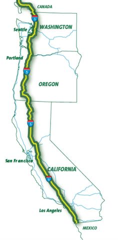 Oregon is also working an electrification project for its section of the superhighway. Description from thedetroitbureau.com. I searched for this on bing.com/images