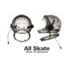 "All Skate - ""Here To Bounce"" album art."