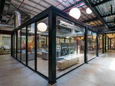 Maars Glassline partition walls at BMC