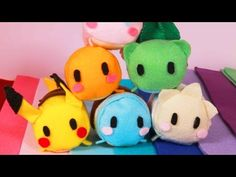 How to Make Pokémon Tsum Tsums - YouTube