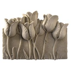 Tulip Garden Wall Plaque - 1201
