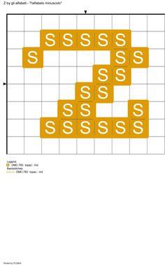 alfabeto minuscolo: Z
