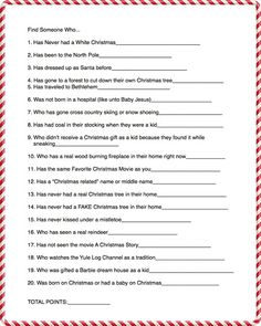 Get to Know you Christmas Game for the Ultimate Christmas Party! Capturing-Joy.com