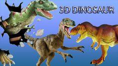 3d Dinosaur Finger Family Nursery english 3d  rhymes |  Children Animate...