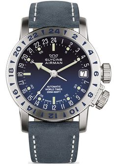 Glycine Watch Airman 17 #bezel-bidirectional #bracelet-strap-leather #brand-glycine #case-depth-10-75mm #case-material-steel #case-width-46mm #clasp-type-tang-buckle #comparison #date-yes #delivery-timescale-1-2-weeks #dial-colour-blue #gender-mens #luxury #movement-automatic #official-stockist-for-glycine-watches #packaging-glycine-watch-packaging #style-dress #subcat-airman #supplier-model-no-3917-18-66-lb8b #warranty-glycine-official-2-year-guarantee #water-resistant-200m #world-time-yes