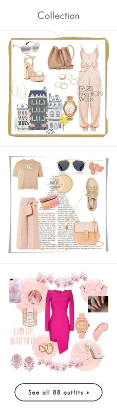 """""""Collection"""" by jessicariddell1 ❤ liked on Polyvore featuring Lancaster, Michael Kors, Lana, Charles David, contest, parisfashionweek, Packandgo, Calvin Klein, Christian Dior and Opening Ceremony"""