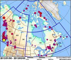 Earthquakes Canada