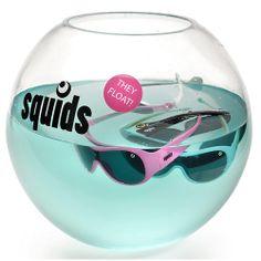 Sonnenbrillen Squids und Mini-Squids - sie schwimmen!!!