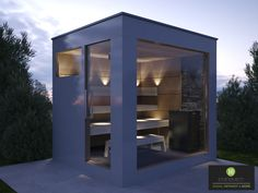 Learn more at the site above simply click the bar for even more information sunlighten infrared sauna Indoor Outdoor, Outdoor Sauna, Saunas, Sauna House, Dry Sauna, Yard Sheds, Sauna Design, Modern Shed, Backyard Pavilion