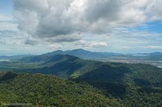 From the top of Mount Mat Cincang in Langkawi, Malaysia