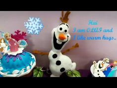 YouTube Diy Disney Frozen Olaf plushie..
