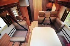 Rapido 766FF - motorhome review | Motorhome Reviews | Out and About Live Motorhome, Floor Chair, Recliner, Lounge, Flooring, Live, Furniture, Home Decor, Chair