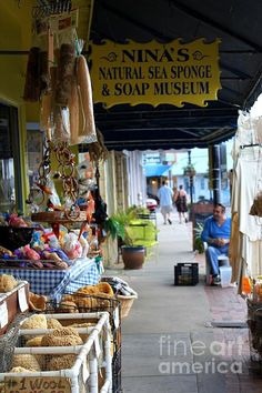Tarpon Springs - home of the sea sponges! Been there and it is a must do kinda deal if you like little tinker shops, boats and the smell of sea