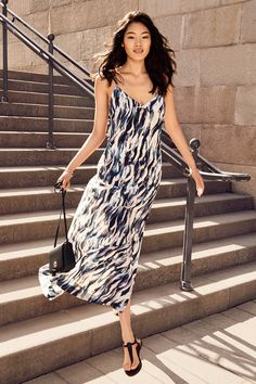 Flounce dresses, floral jumpsuits and elegant maxis for all summer soirées. | H&M Summer