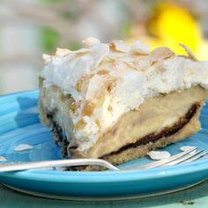 Gluten-Free Coconut-Banana Cream Pie by Jules