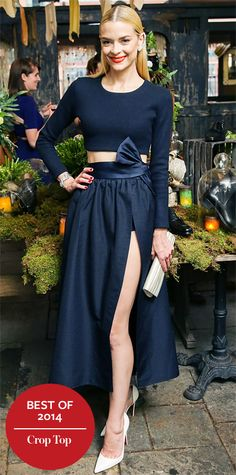 Look of the Day - December 23, 2014 - Jaime King in Katie Ermilio from #InStyle