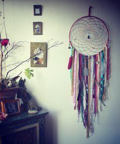 Traumfänger & Mobiles - XXLTraumfänger Tribal Ethno Boho Hippie Indianer - ein Designerstück von Amiyasart bei DaWanda
