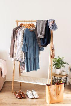 Capsule wardrobe, slow fashion challenge / Kapsułkowa szafa w ciąży