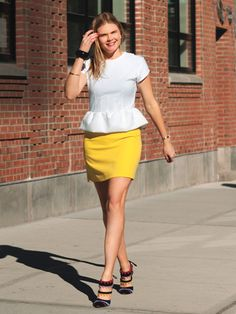 User's Guide to Style: Peplum Top: shopping: allure.com