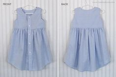 DIY Adult Shirt to LINED Toddler Dress    Craftsy