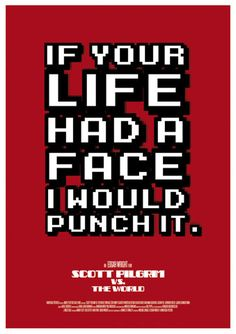 The World by Ant baena, One of my favorite quotes from this movie haha by gabrielle Scott Pilgrim Comic, Scott Pilgrim Quotes, Bryan Lee O Malley, Ramona Flowers, Vs The World, Favorite Quotes, My Favorite Things, Geek Out, Movie Quotes