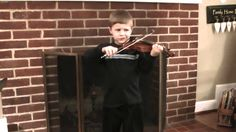 Violin - Lightly Row; at home—See more of young violinist #sonB_from_jbt2110