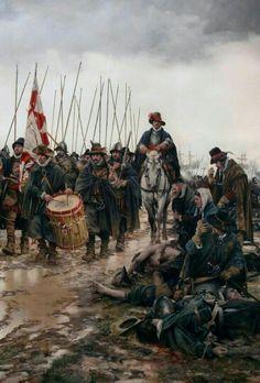 Spain / Battles, Knights.. Tercio español en marcha.