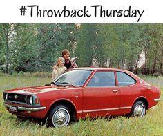 #TBT: 1974 Toyota Corolla