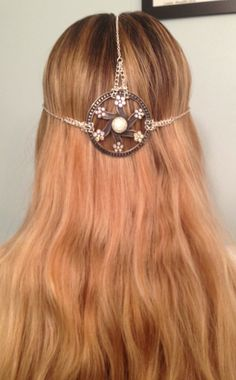 Medieval Princess Head Jewelry    $24  https://www.etsy.com/listing/100877076/simple-medieval-head-jewelry