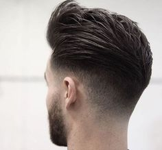 Fade Hairstyle #Haircut #Men // Browse @damee1's boards for more style inspiration [https://www.pinterest.com/damee1/hairstyle/]: