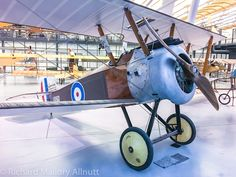 Sopwith F.1 Camel B6291 as she currently sits in NASM's Stephen F. Udvar-Hazy Center in Chantilly, Virginia.