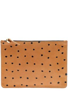 Clare V dotted clutch