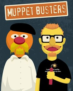 Muppet Busters  Muppets by techgnotic on DeviantArt