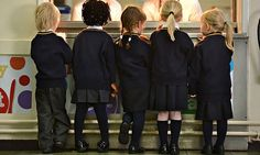The debate over school uniforms centres on costs for families as well as attitudes in schools.  Photograph: Alamy