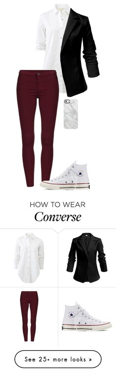 """Untitled #23"" by supernaturalforlife on Polyvore featuring rag & bone, Converse and Uncommon"