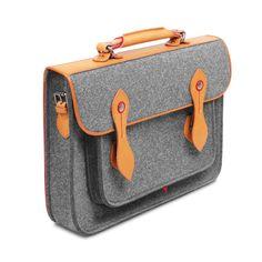 Briefcase Macbook Satchel Wool Felt Backpack Shoulder Bag | Etsy Laptop Shoulder Bag, Laptop Bag, Felt Phone Cases, Macbook Bag, Diy Purse, Leather Handle, Briefcase, Backpack Bags, Bag Storage