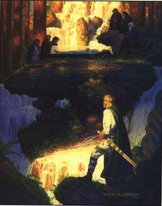Snow White by Greg Hildebrandt, 1984