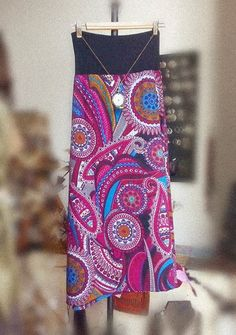 Buongiorno Autunno!  Gonne lunghe di maglina, Thai... #Frida #Handmade #Gipsy #Boho