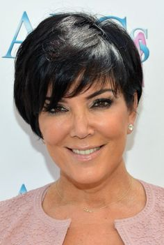 Short Hair Styles For Women Over 50 | Kris Jenner Hairstyle for Women Over 50 /Getty Images