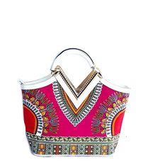 Dashiki African print Elegant Modern Fashion Handbag