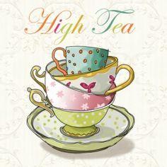 Creatieve uitnodiging High Tea - Uitnodiging maken